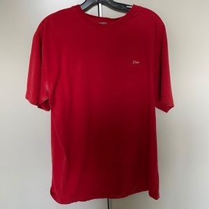Christian Dior red t shirt